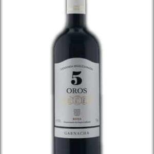 5 Oros Vendimia Seleccionada D.O.Ca. Rioja 2018