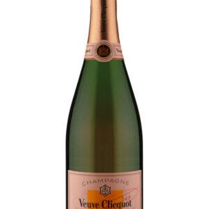 Champagne Veuve Clicquot Rosé Brut com Cartucho
