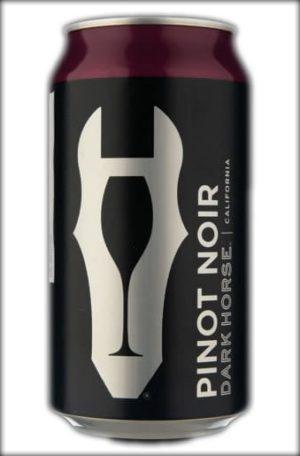 Dark Horse Pinot Noir Lata 375ml