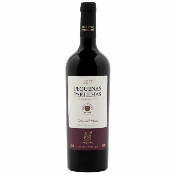 Vinho Aurora Pequenas Partilhas Cabernet Franc 750ml