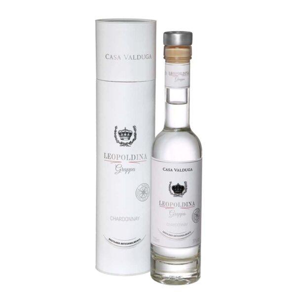 Destilado Casa Valduga Grappa Leopoldina Chardonnay 200ml