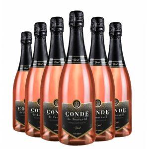 Pack Espumante Conde de Foucauld Brut Rosé 750ml