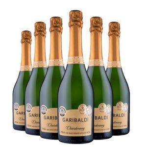 Pack Espumante Garibaldi Chardonnay Brut 750ml