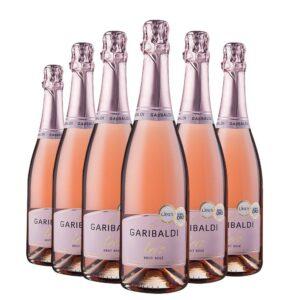 Pack Espumante Garibaldi Vero Brut Rosé 750ml