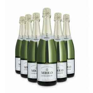 Pack Espumante Miolo Cuvée Tradition Demi-Sec 750ml