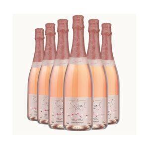 Pack Espumante Miolo Seival Brut Rosé 750ml